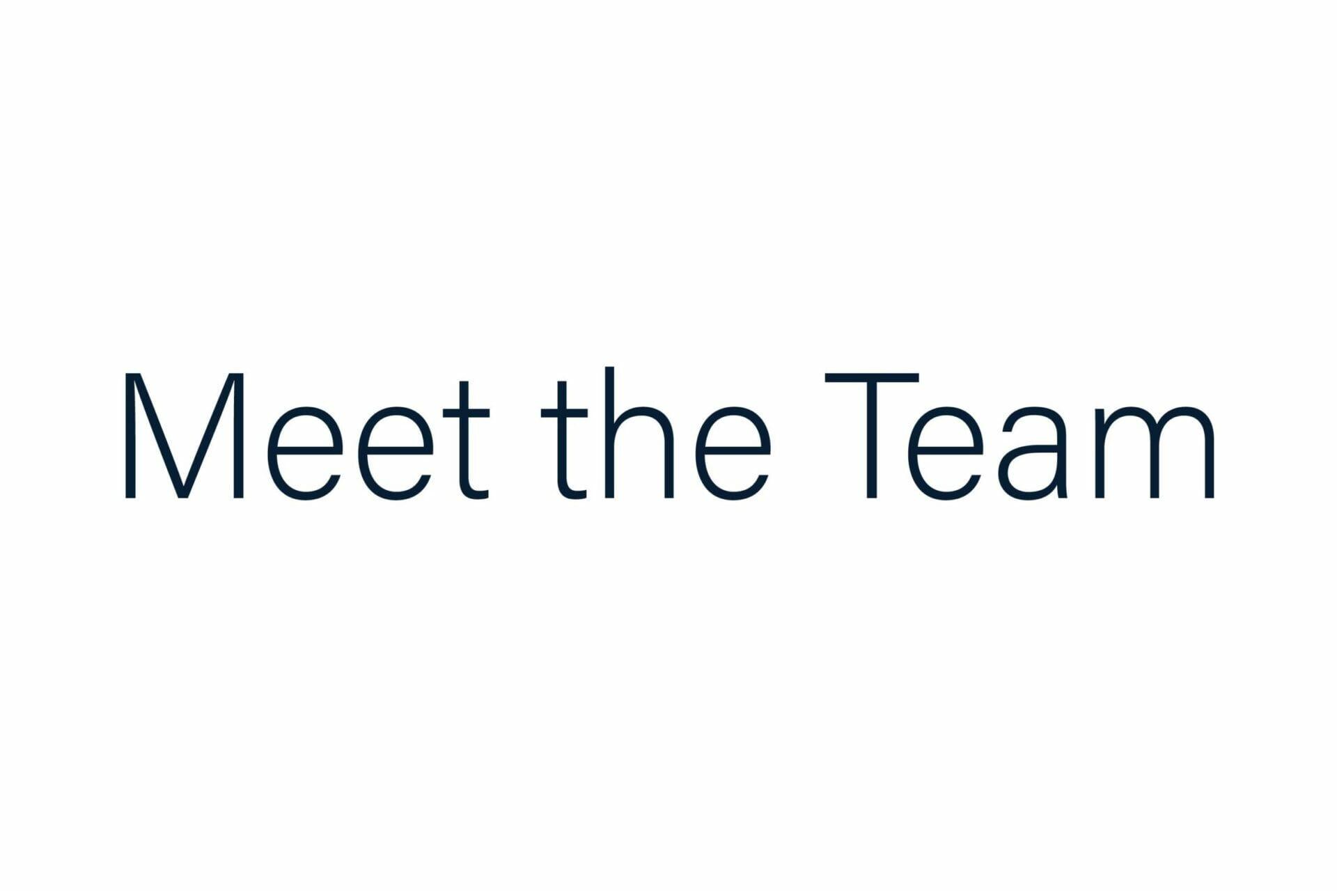 meet the team home