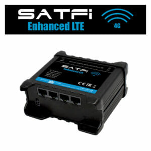 satfi 4g maritime wifi button