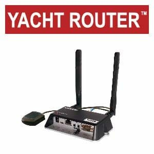 yacht router maritime wifi button