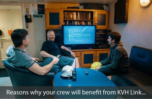 kvh link crew welfare