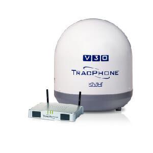 kvh tracvision v30 system