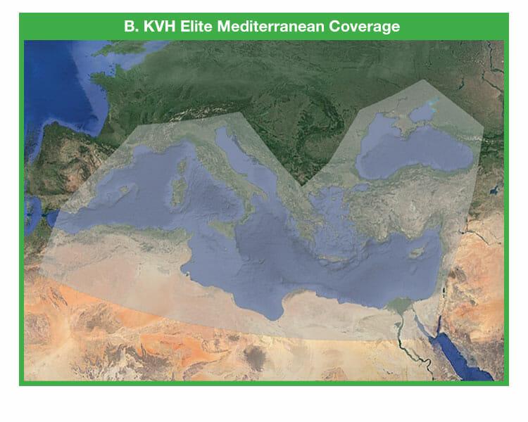 kvh elite mediterranean